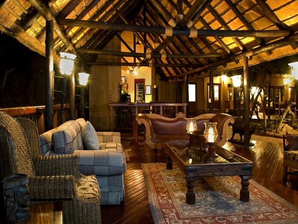 Shumbalala Lodge - lounge