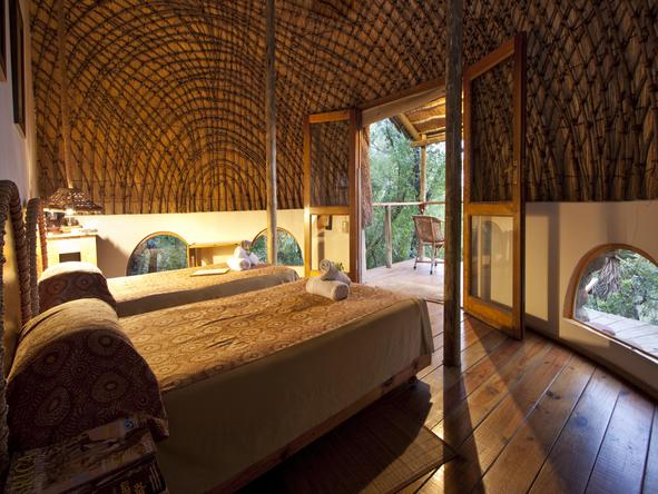 Isibindi Zulu Lodge - bedroom