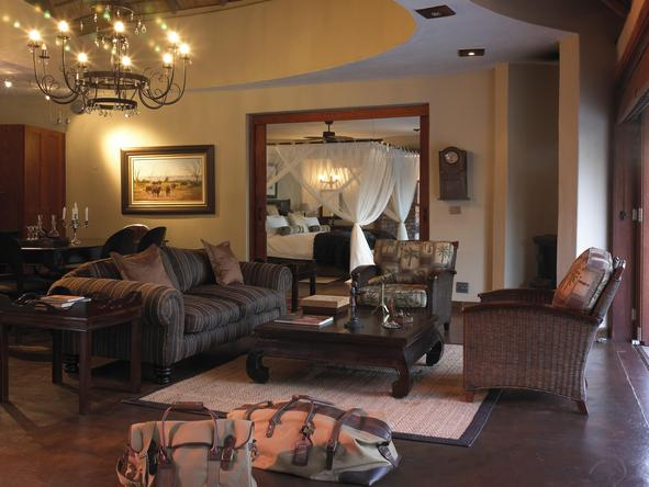 Tintswalo Safari Lodge - suite interior