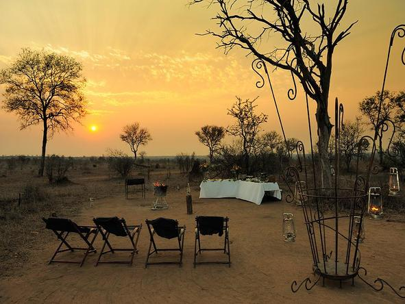 Tintswalo Safari Lodge - outdoor dining