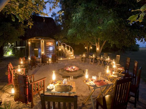 Selinda Camp - campfire