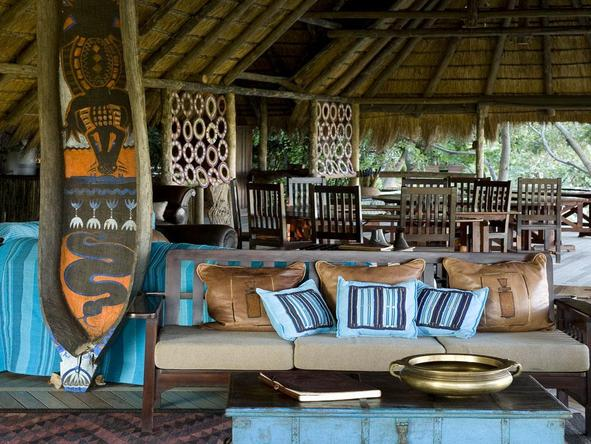 Selinda Camp - main lounge