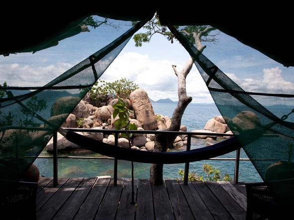 Mumbo Island Camp - view