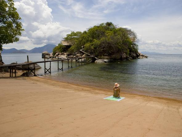 Mumbo Island Camp - beach
