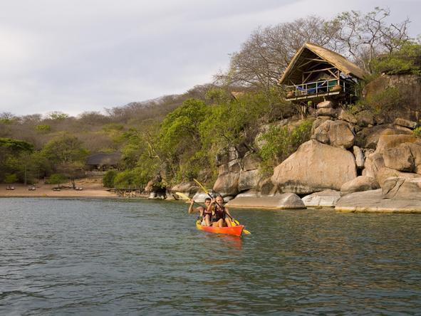 Mumbo Island Camp - canoeing