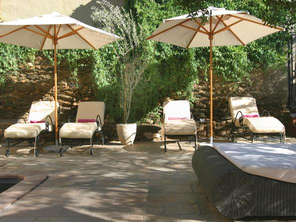 Olive Grove - sun loungers