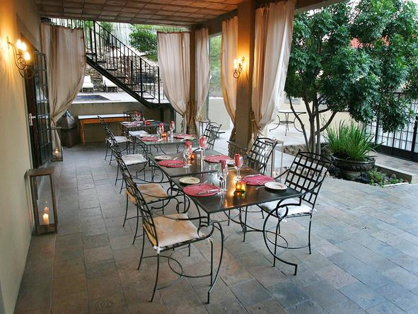 Olive Grove - outdoor dining