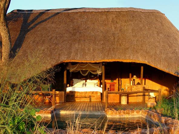 tanley Safari Lodge - luxury room
