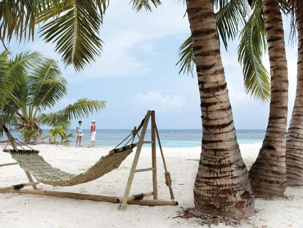 Desroches Island Resort - hammock