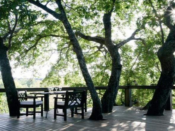 Londolozi Tree Camp - deck