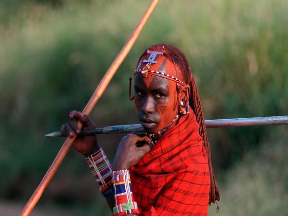 Amboseli Porini Camp - maasai