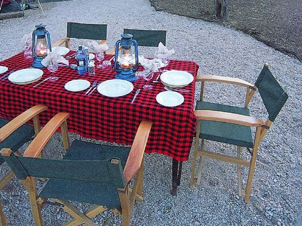 Amboseli Porini Camp - dining