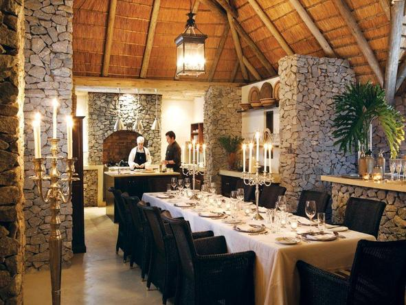 Londolozi Pioneer Camp - dining room