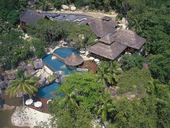 Lemuria - aerial view