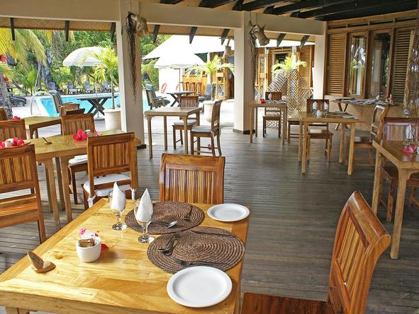 Indian Ocean Lodge - dining