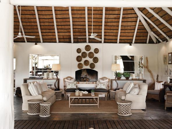 Londolozi Founders Camp - main lounge 2