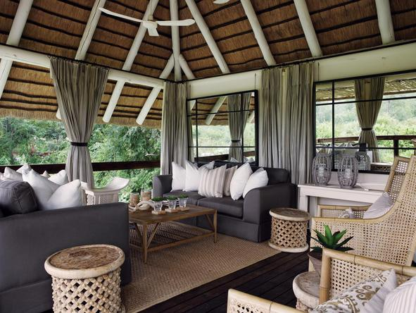 Londolozi Founders Camp - main lounge