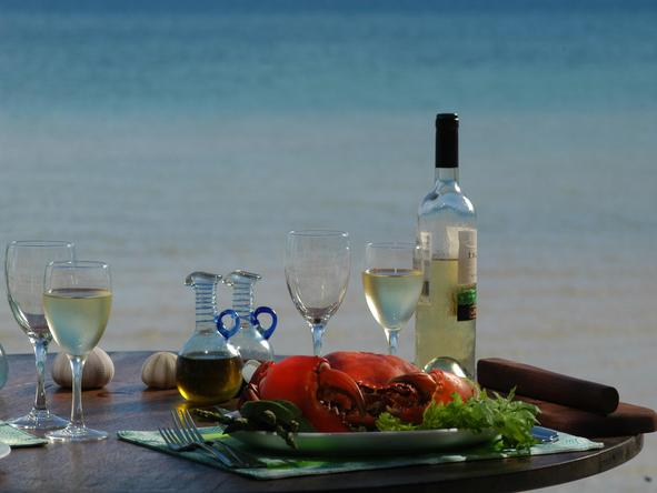 Manda Bay - wine and food