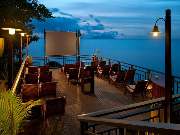 Hilton Seychelles Northolme Resort - movie night