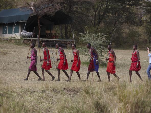 Richard's Camp - Maasai people