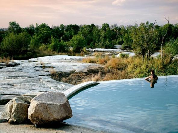 Londolozi Private Granite Suites - plunge pool