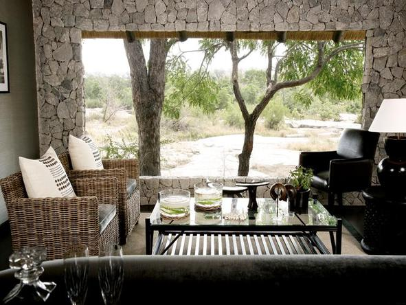 Londolozi Private Granite Suites - lounge