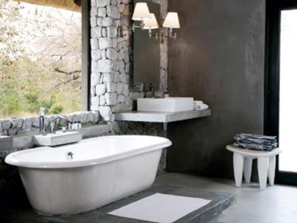 Londolozi Private Granite Suites - bathroom