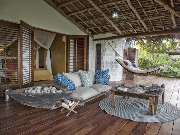 Matemwe Retreat - private deck