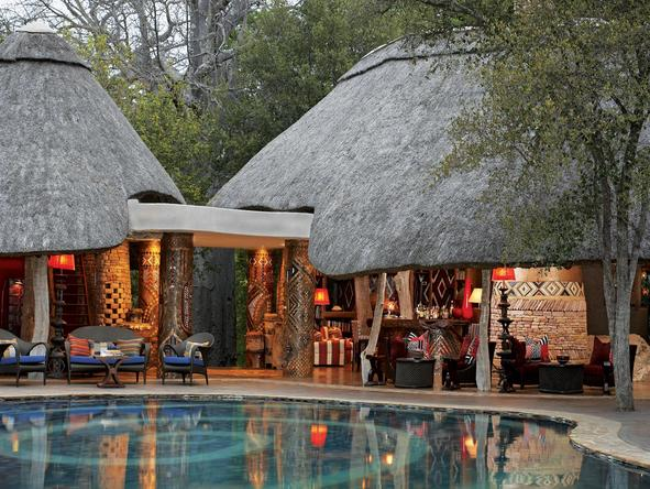 Singita Pamushana Lodge - pool