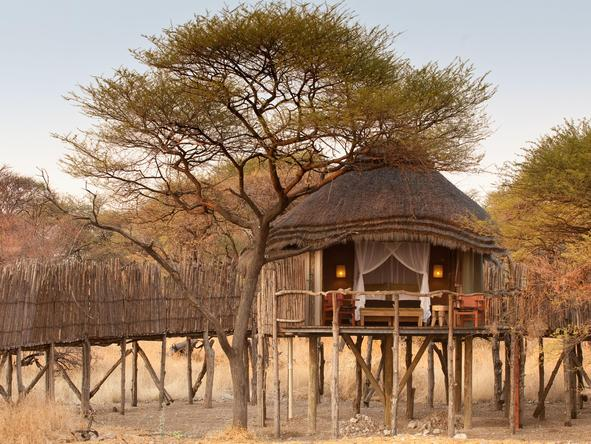Onguma Tree-Top Camp - suite exterior