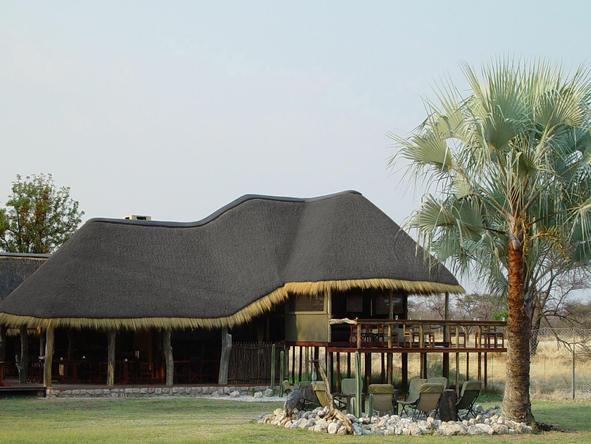 Onguma Bush Camp - camp exterior