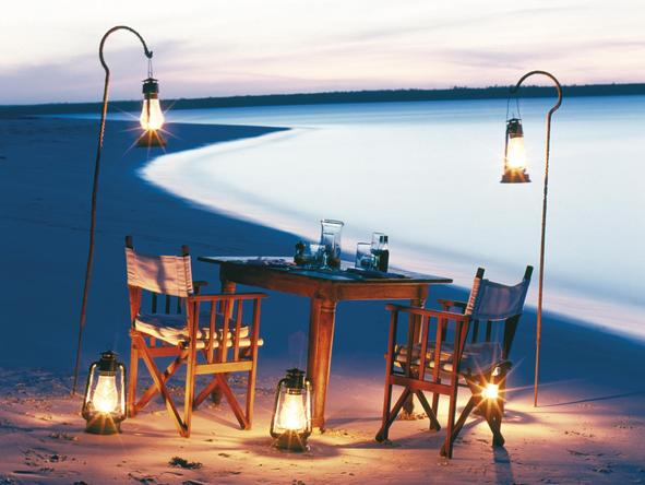 Mnemba Island Lodge - private dining