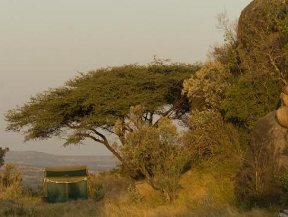 Lemala Mara - camp exterior