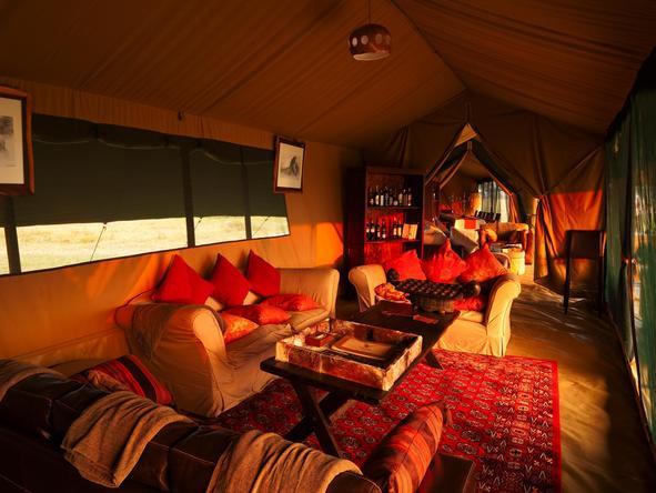 Lemala Mara - lounge