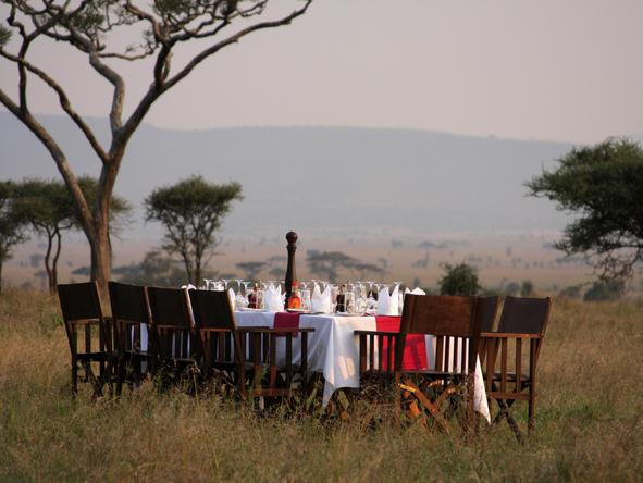 Lemala Mara - outdoor dining
