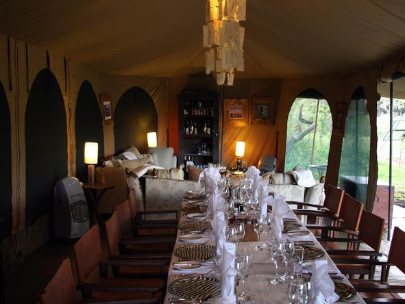 Lemala Ngorongoro - dining room