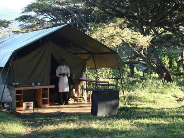 Lemala Ngorongoro - tent exterior