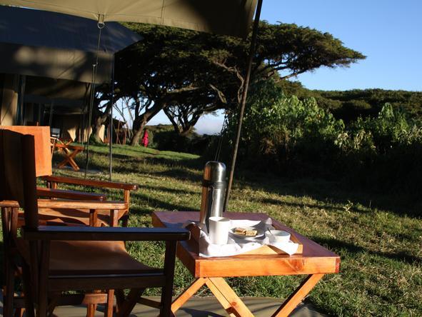 Lemala Ngorongoro - chair on deck