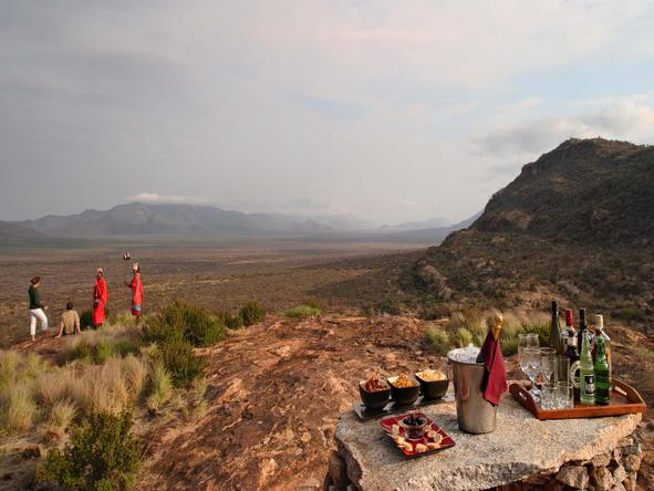 Saruni Samburu - outdoor picnic