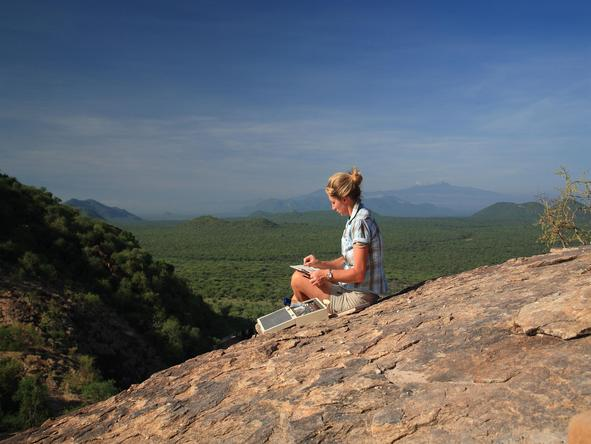 Saruni Samburu - outdoor meditation