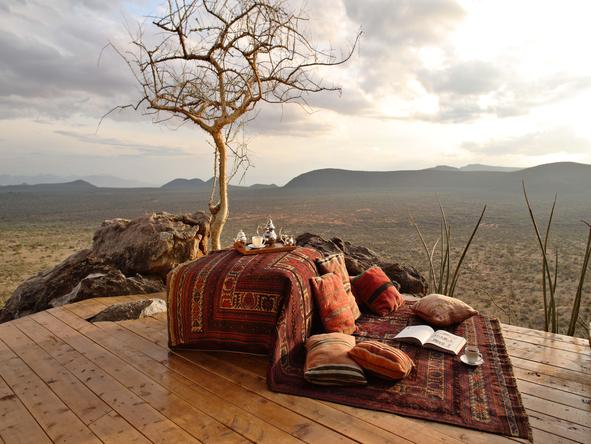 Saruni Samburu - deck with view