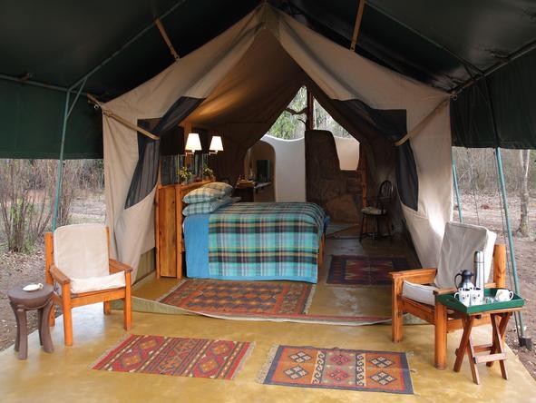 Kitich Camp - tent interior