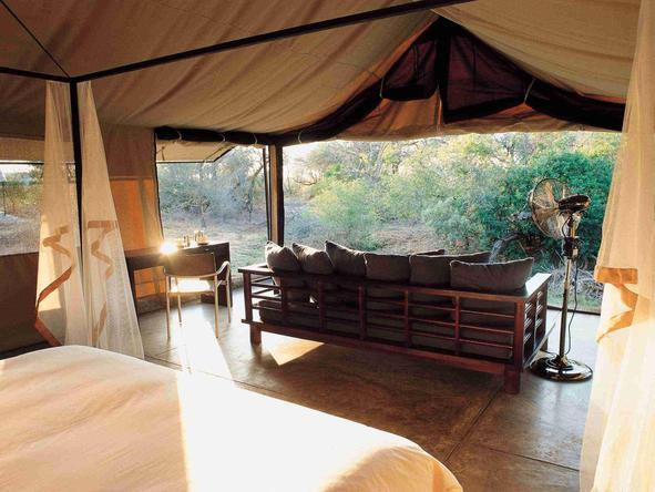 Honeyguide Khoka Moya Safari Lodge - Bedroom 2