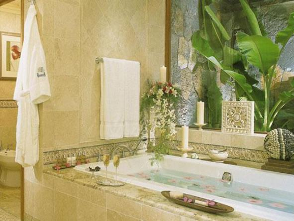 One&Only Le Saint Geran - bathroom