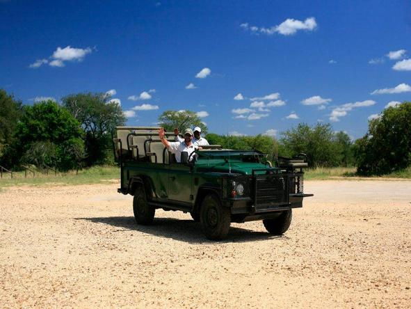 Royal Malewane - game drive