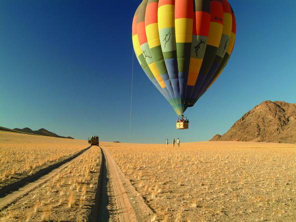 Wolwedans Dunes Lodge - hot air balloon