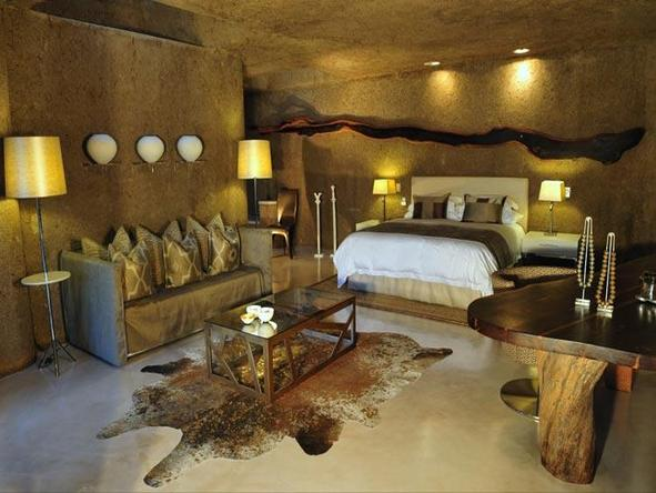 Sabi Sabi Earth Lodge - bedroom