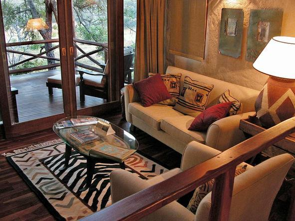 Lukimbi Safari Lodge - safari style lounge