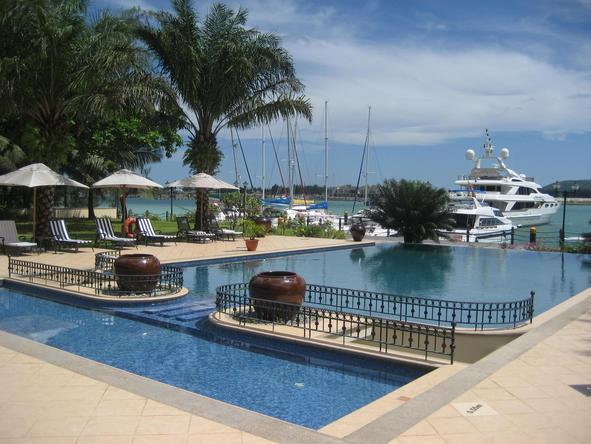 The Wharf Hotel and Marina - swimming pool
