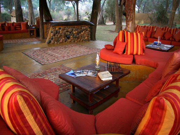Chongwe River Camp - lounge